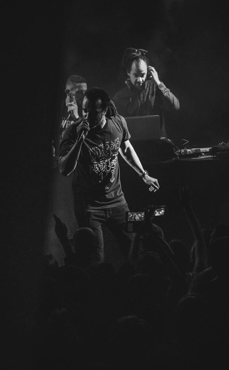 photographie de live de Pierre Jaffeux