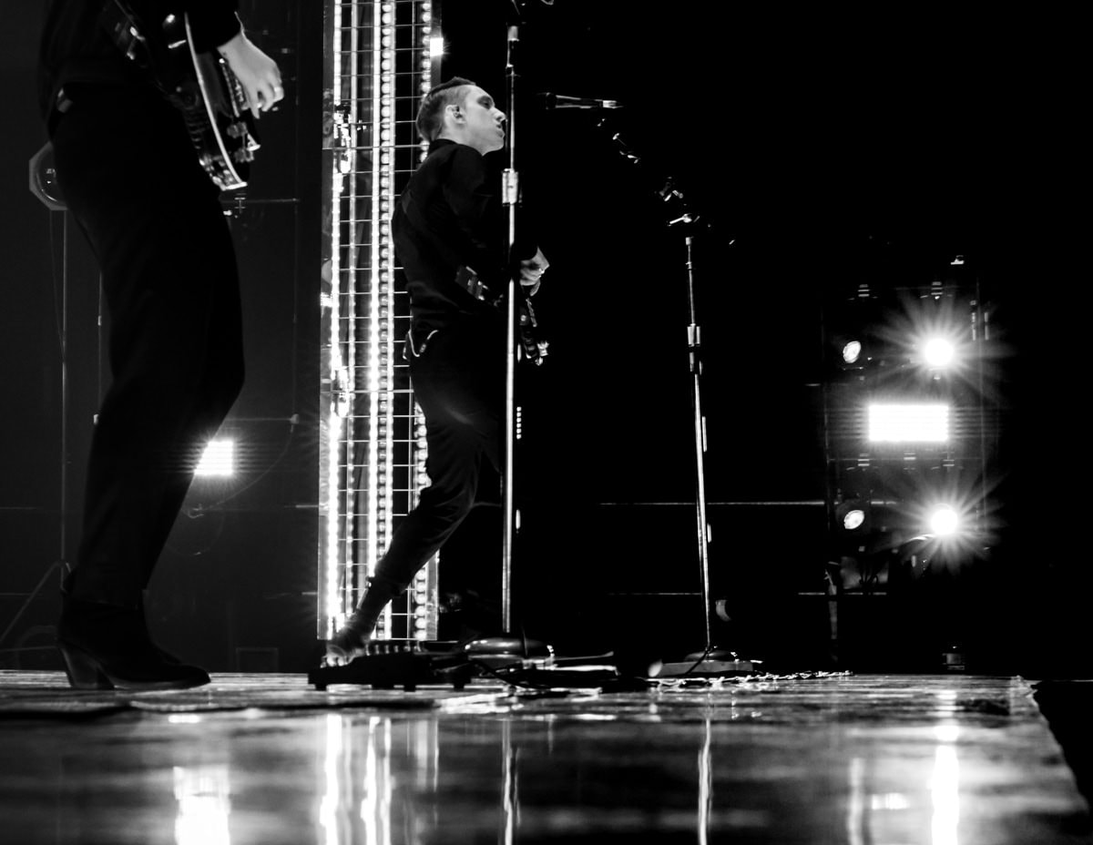 Photographie pro de The XX à la Halle Tony Garnier