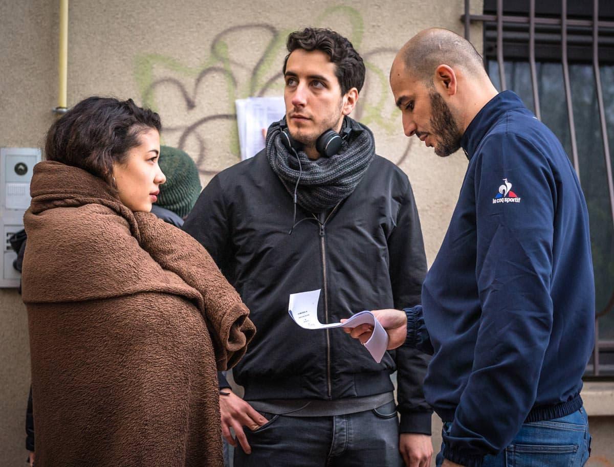 Behind the scene briefing des acteurs