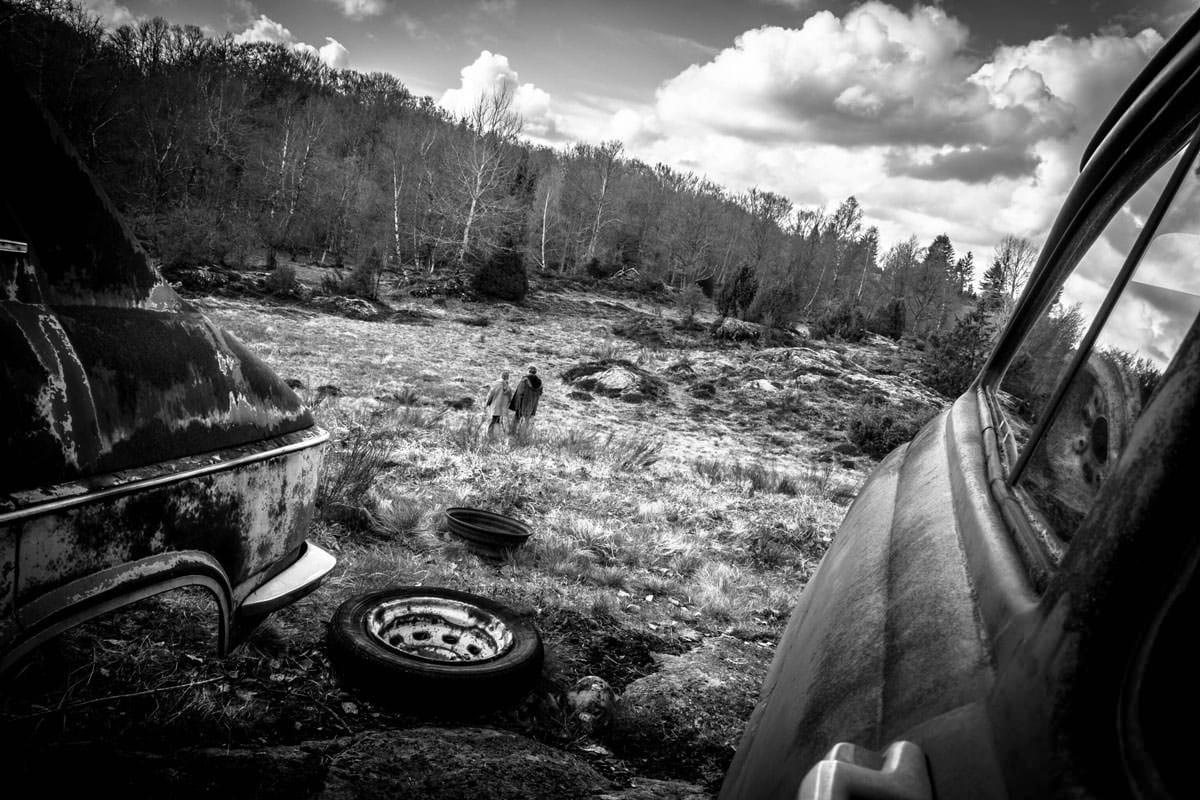 photos tournage en Auvergne