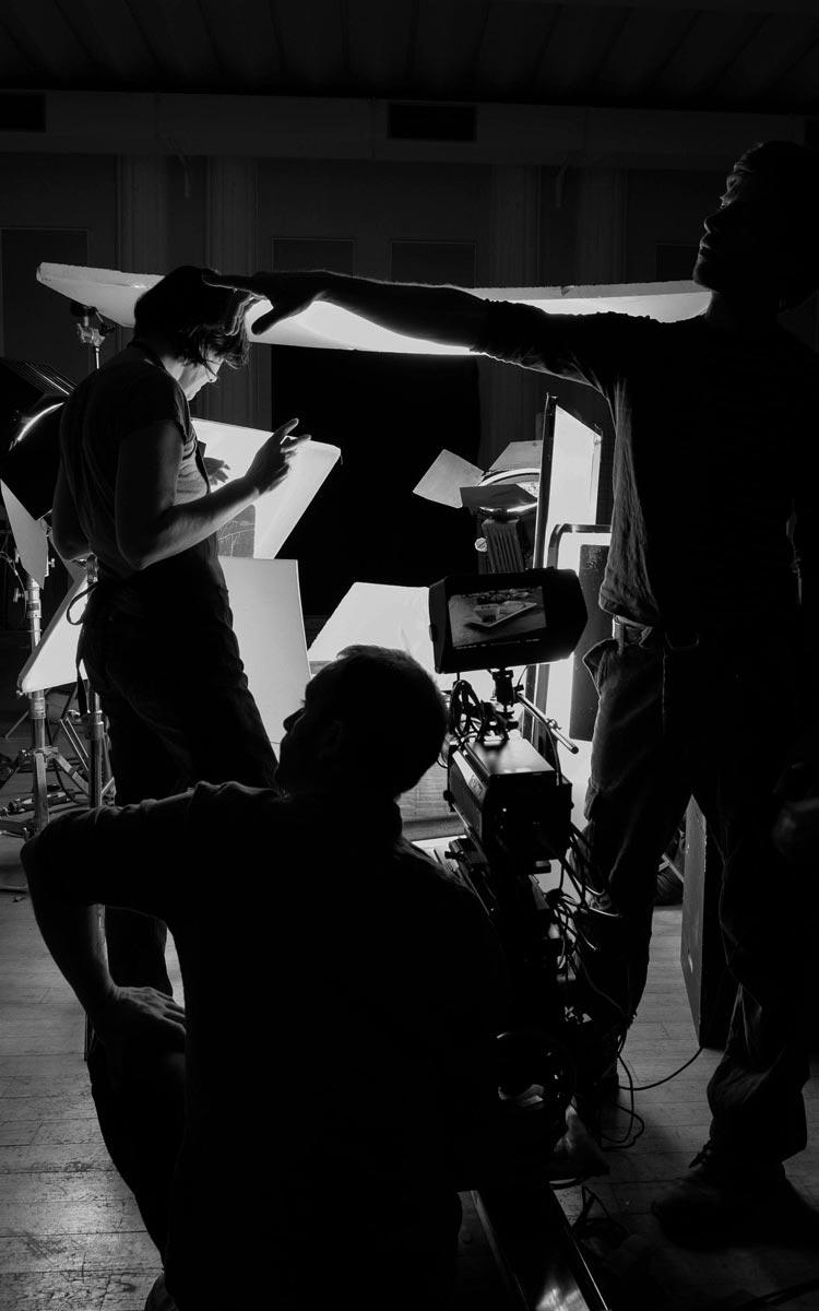 photographie de tournage par eidetic studio