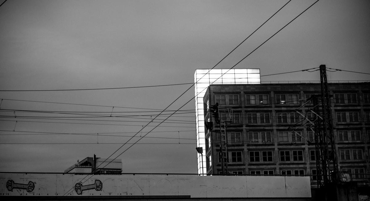 Contraste ombre et lumière à Berlin