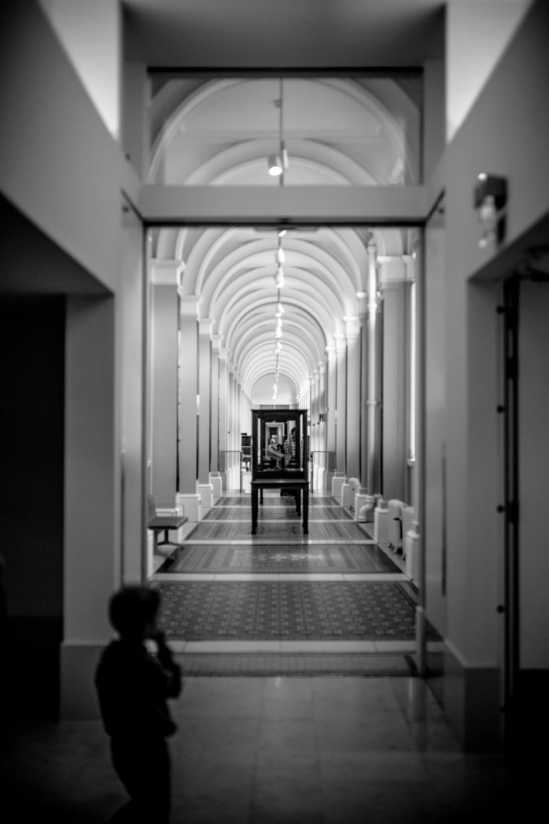 Enfant au National Museum of Scotland