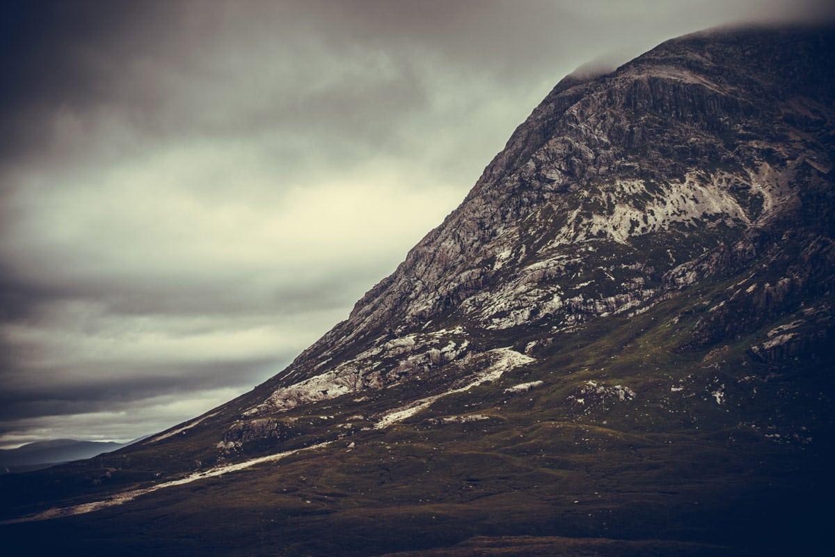 Paysage de montagne écossaise