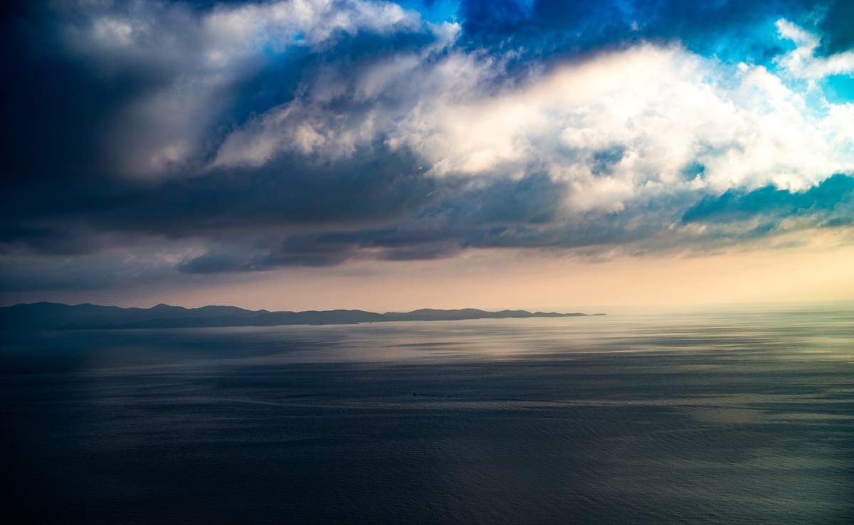 La quiétude des côtes en Croatie